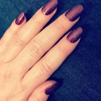 Christmas nails 💜