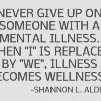 Illness becomes wellness
