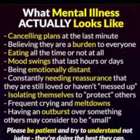 What mental illness actually looks like...